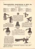 Philadelphia Electrical Mfg Company 1943 Vintage Catalog Floodlights