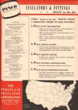 Porcelain Insulator Corp 1944 Vintage Catalog Pinco Pin Bus Suspension