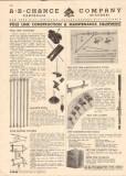 A B Chance Company 1944 Vintage Catalog Electric Pole Line Anchors Guy