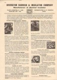 Irvington Varnish Insulator Company 1944 Vintage Catalog Irv-O-Lite