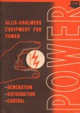 Allis-Chalmers Mfg Company 1948 Vintage Catalog Power Generation Equip