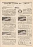 Benjamin Electric Mfg Company 1948 Vintage Catalog Lighting Industrial