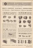 Cannon Electric Development Company 1948 Vintage Catalog Connectors