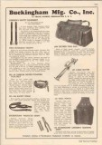Buckingham Mfg Company 1948 Vintage Catalog Lineman Safety Equipment