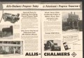Allis-Chalmers 1959 Vintage Ad Pumps Blowers Progress Today Tomorrow