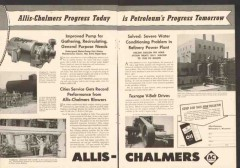 Allis-Chalmers 1959 Vintage Ad Pumps Blowers Progress Today Tomorrow