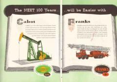 Cabot Shops Inc 1959 Vintage Ad Oil Franks PTO Hoist 100 Years Easier