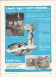 Philadelphia Gear Corp 1959 Vintage Ad Oil Limitorque Valve Operators