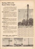 Bucyrus-Erie Company 1955 Vintage Ad Oil Field Spudders Repeat Order