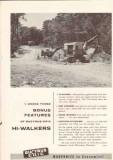 Bucyrus-Erie Company 1959 Vintage Ad Tractor Hi-Walkers Bonus Features