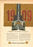Hughes Tool Company 1959 Vintage Ad Oil Field Drill Bits Worth Gold