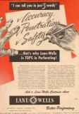 Lane-Wells Company 1950 Vintage Ad Gas Oil Field Accuracy Penetration