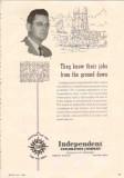 Independent Exploration Company 1950 Vintage Ad Oil A D Dunlap Surveys