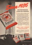 Lone Star Cement Corp 1950 Vintage Ad Oil Field Deep-Well Cementing