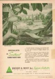 Brown Root Inc 1950 Vintage Ad Oil Specialists Southwest Construction