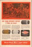 Boston Woven Hose Rubber Company 1950 Vintage Ad Oil Refinery Fires