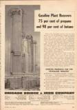 Chicago Bridge Iron Company 1950 Vintage Ad Oil Gasoline Plant Propane