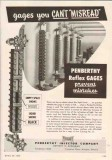 Penberthy Injector Company 1950 Vintage Ad Oil Reflex Gages Misread