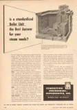 Combustion Engineering-Superheater 1950 Vintage Ad Boiler Unit Steam