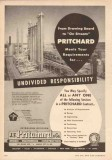 J F Pritchard Company 1950 Vintage Ad Oil Gas Undivided Responsibility