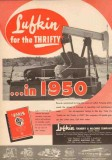 Lufkin Foundry Machine Company 1950 Vintage Ad Oil Pump Units Thrifty
