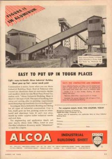 aluminum company of america 1950 west penn power mitchell vintage ad