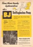 Byron Jackson Company 1950 Vintage Ad Hydrocarbon Stuffingboxless Pump