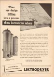 Pittsburgh Lectrodryer 1950 Vintage Ad Oil Design DRYing Process Where