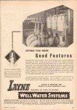 Layne Bowler Inc 1950 Vintage Ad Oil Vertical Turbine Pump Features
