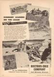 Bucyrus-Erie Company 1950 Vintage Ad Economy Bulldozer Bullgrader Oil