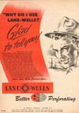 Lane-Wells Company 1950 Vintage Ad Gas Oil Customers Explain Reasons
