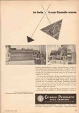 Chicago Pneumatic Tool Company 1950 Vintage Ad Portland-Montreal Pipe