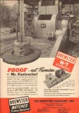Brewster Company 1950 Vintage Ad Oil Drilling N-7 Drawworks Proof