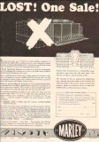 Marley Company 1950 Vintage Ad Oil Double-Flow Cooling Tower Lost
