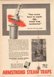 Armstrong Machine Works 1950 Vintage Ad Repair Steam Trap Mechanism