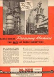 Arthur G McKee Company 1950 Vintage Ad Oil Processing Machine Cracker