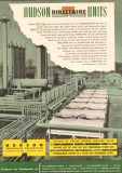 Hudson Engineering Corp 1950 Vintage Ad Gas Oil Directaire Units Steam