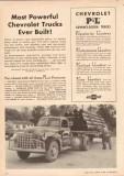 chevrolet 1950 p-l powerful trucks j r robinson houston tx vintage ad