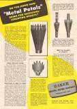 Baker Oil Tools Inc 1950 Vintage Ad Metal Petals Basket Cementing