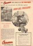 Cameron Iron Works 1950 Vintage Ad Oil Non-Lubed Lift-Plug Valve 3