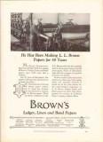 l l brown paper company 1926 julius charbonneau 50 years vintage ad