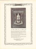 burkhardt company 1926 burkart fly-tox stout book hard job vintage ad