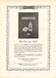 burkhardt company 1926 burkart fly-tox for 1927 book covers vintage ad