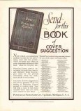 peninsular paper company 1926 patrician covers printing vintage ad