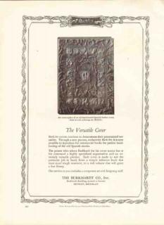 burkhardt company 1926 burkart versatile cover printing vintage ad