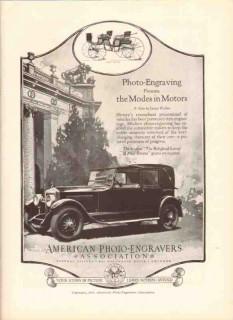 american photo-engravers assoc 1926 modes motors printing vintage ad