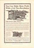 challenge machinery company 1926 lee two-revolution press vintage ad