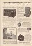 Production Instrument Company 1948 Vintage Catalog Electrical Counters
