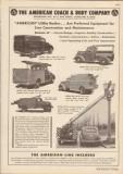 American Coach Body Company 1948 Vintage Catalog Truck Utility Line