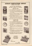 Accurate Mfg Company 1948 Vintage Catalog Friction Rubber Tape